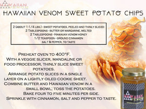 Healthy Delicious Hawaiian Venom Sweet Potato Chips