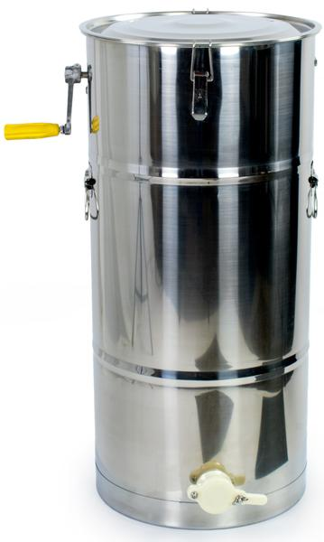 2 Frame Stainless steel Hand crank extractor - HawaiianVenom.com,2 Frame Stainless steel Hand crank extractor, Bee Equipment,product_vendor],HawaiianVenom.com