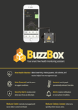 BuzzBox- Your Smart Health Hive Monitoring Assistant! Shipping included! - HawaiianVenom.com,BuzzBox- Your Smart Health Hive Monitoring Assistant! Shipping included!, Bee Equipment,product_vendor],HawaiianVenom.com