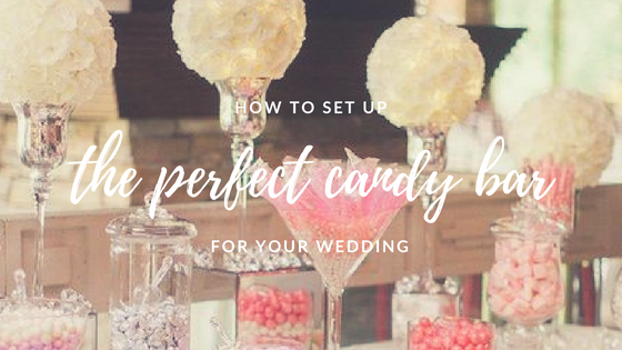 How to organize a candy bar for your wedding