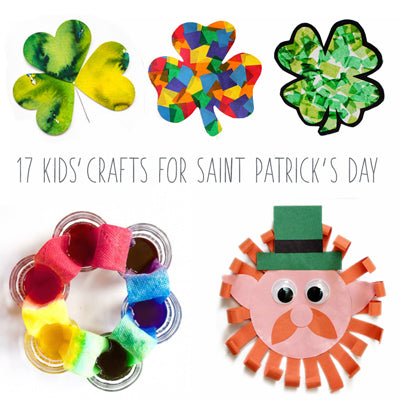 17 Saint Patrick's crafts and activities for kids