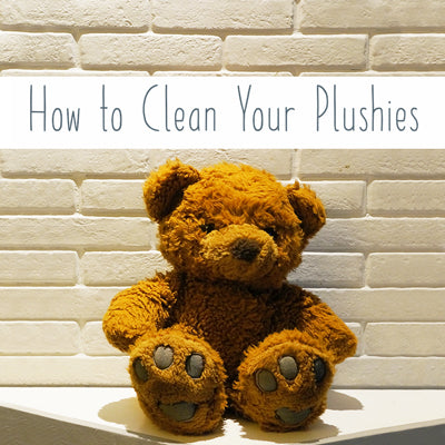 How to Clean Your Plush Toys