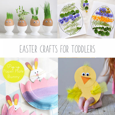 16 Easter Crafts for Toddlers