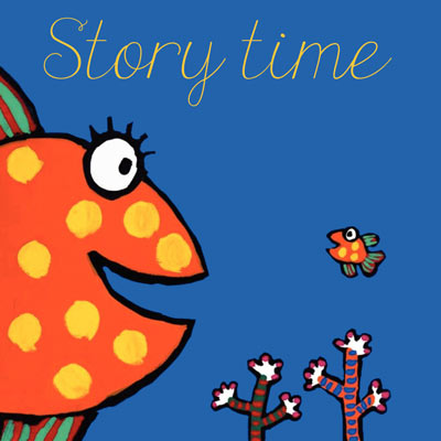 Story Time: Hooray for Fish by Lucy Cousins