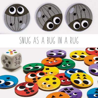 Snug as a Bug in a Rug, a Family Board Game