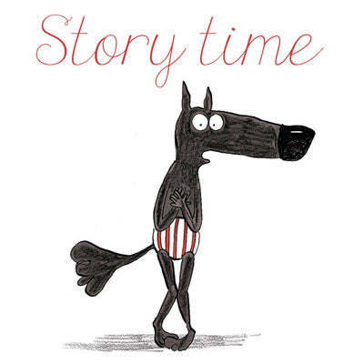 Story Time: The Wolf in Underpants by Lupano, Itoïz and Cauuet