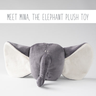 Meet Mina, the stuffed Elephant