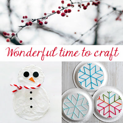 Winter is the Most Wonderful Time of Year... to Craft!