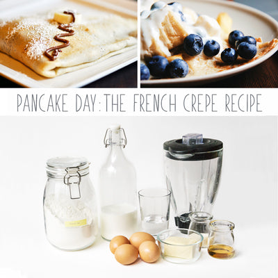 Pancake Day... An Authentic French Crepe Recipe