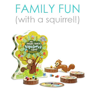 Family Fun: With a Squirrel!