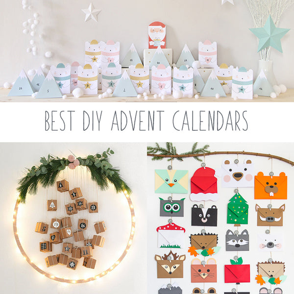 image of 3 DIY advent calendars