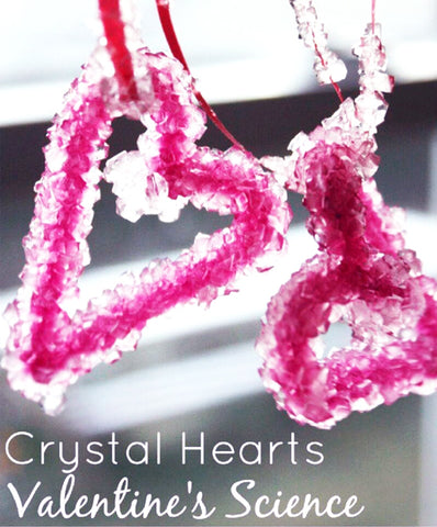 Crystlas heart experiment