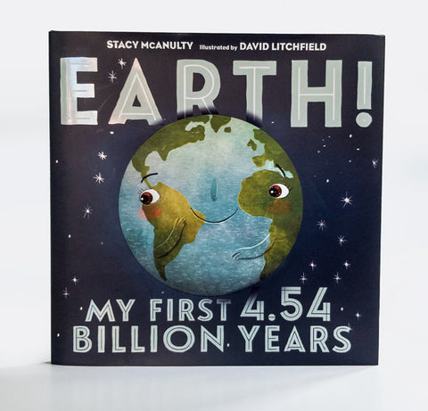 Earth! My first 4.54 billion years book cover