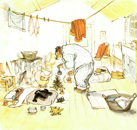 Illustration from the book Ernest and Celestine