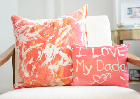 Pillows for mother's day or father's day