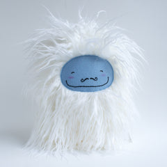 Working plush yeti monster