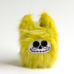 Green day of the dead stuffed monster