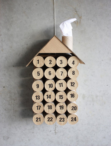 DIT paper roll advent calendar