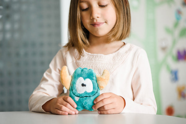 Make your Monster - A DIY sewing kit for kids - Green