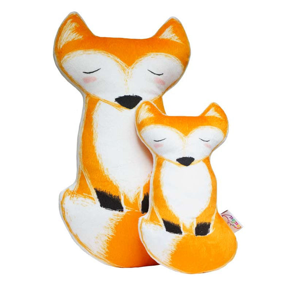 Decorative pillow - Tulka, the fox pillow
