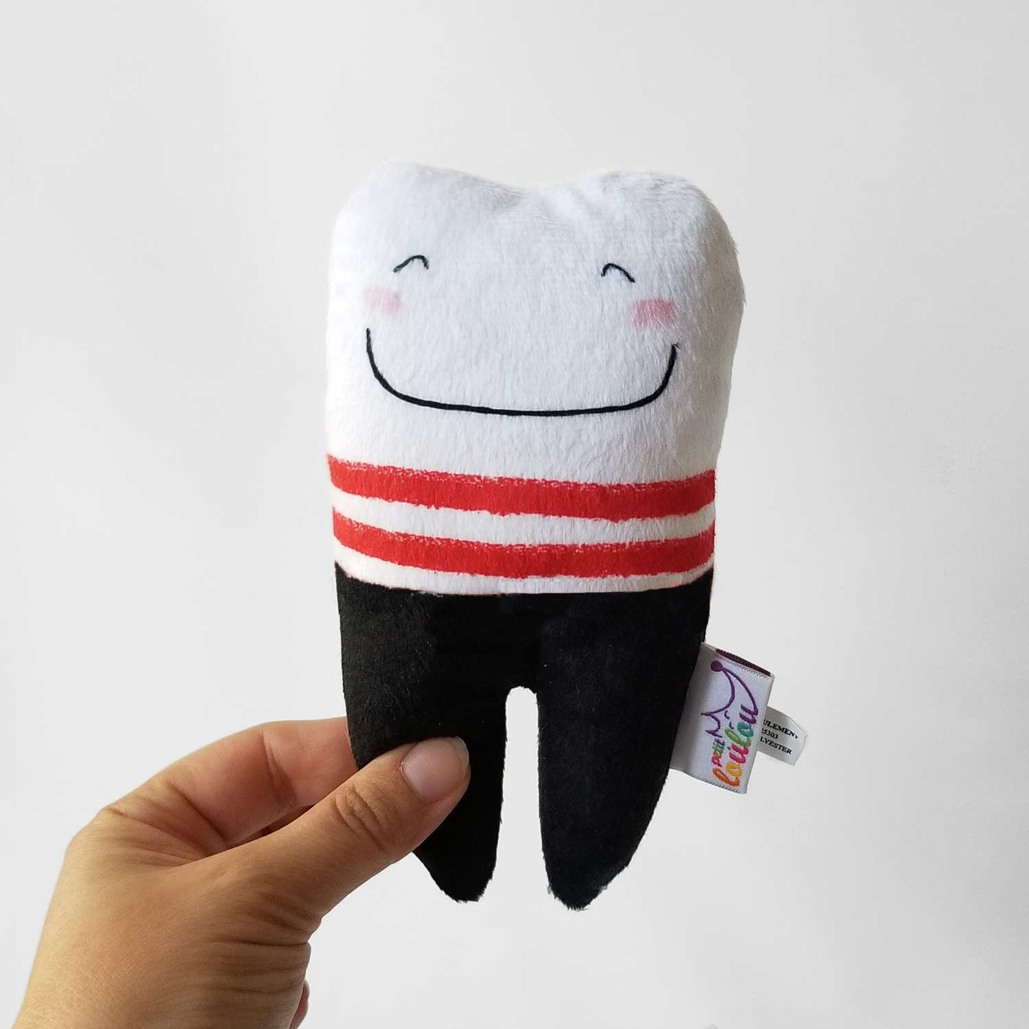 Pirate Tooth Pillow for Tooth Fairy