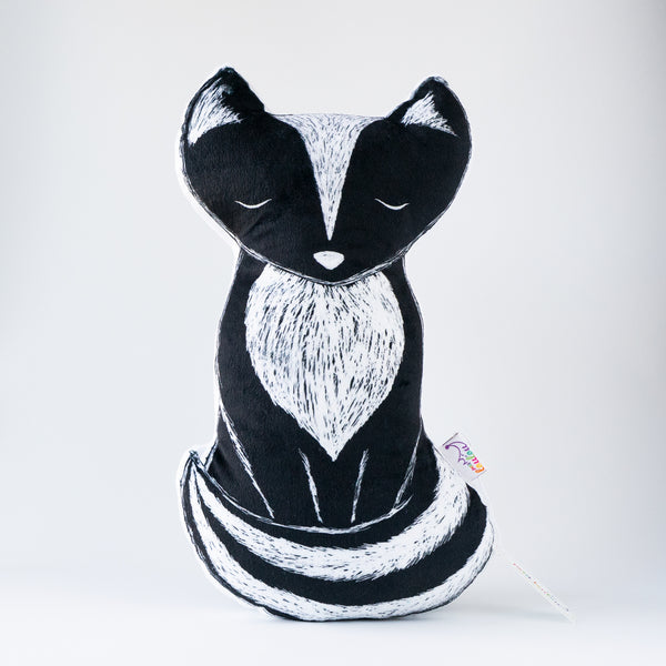 Decorative pillow - Cali, the skunk pillow