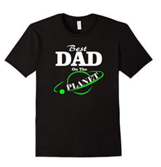 Best Dad on the Planet T-shirt