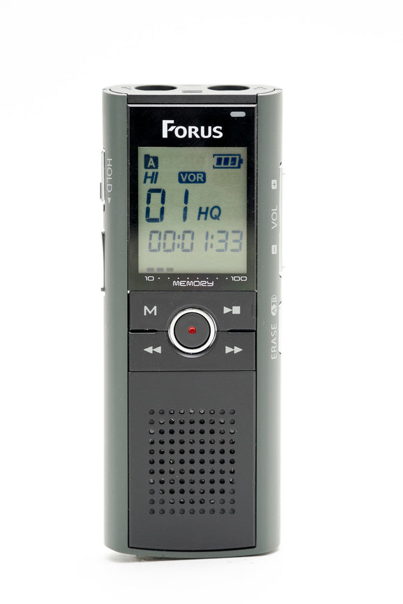VRF4GB: Forus Telephone Voice Recorder 4GB Memory