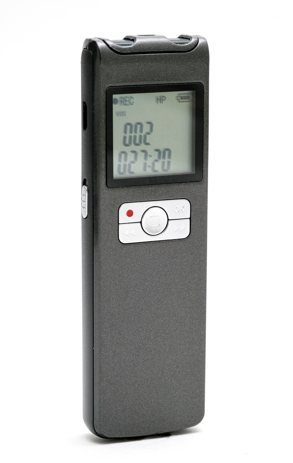 VRSLTW: Long Duration Voice Recorder with 16GB Memory and Wireless Mic