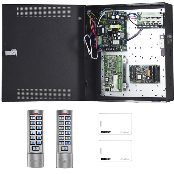 Lockstate 2 Door Access Control Kit with Readers Lite