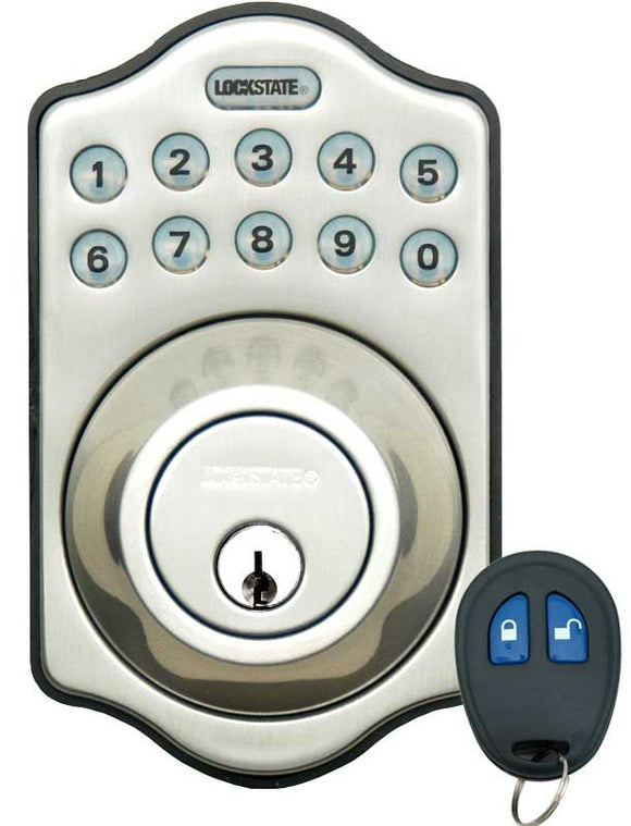 Lockstate DB500R Keyless Deadbolt W/Remote