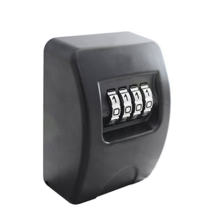Small Wall Mounted Lockbox (black)