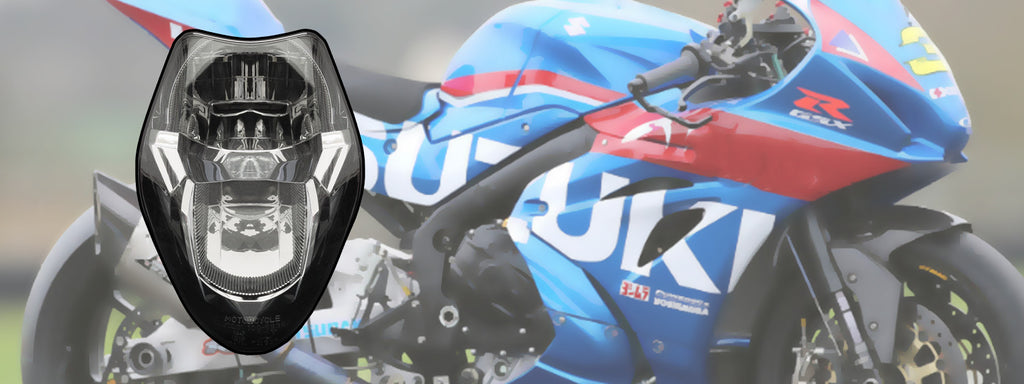 WSBK style headlight decals for Suzuki GSX-R 1000 2017 now available!