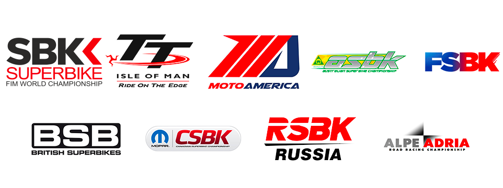 Our WSBK style headlight decal was in all important championships in 2018