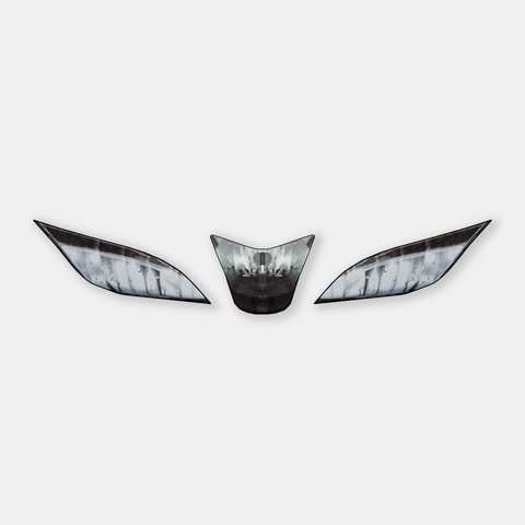 WSBK style headlight decals for Aprilia RSV4 (WSBK replica) - TrackbikeDecals.com
