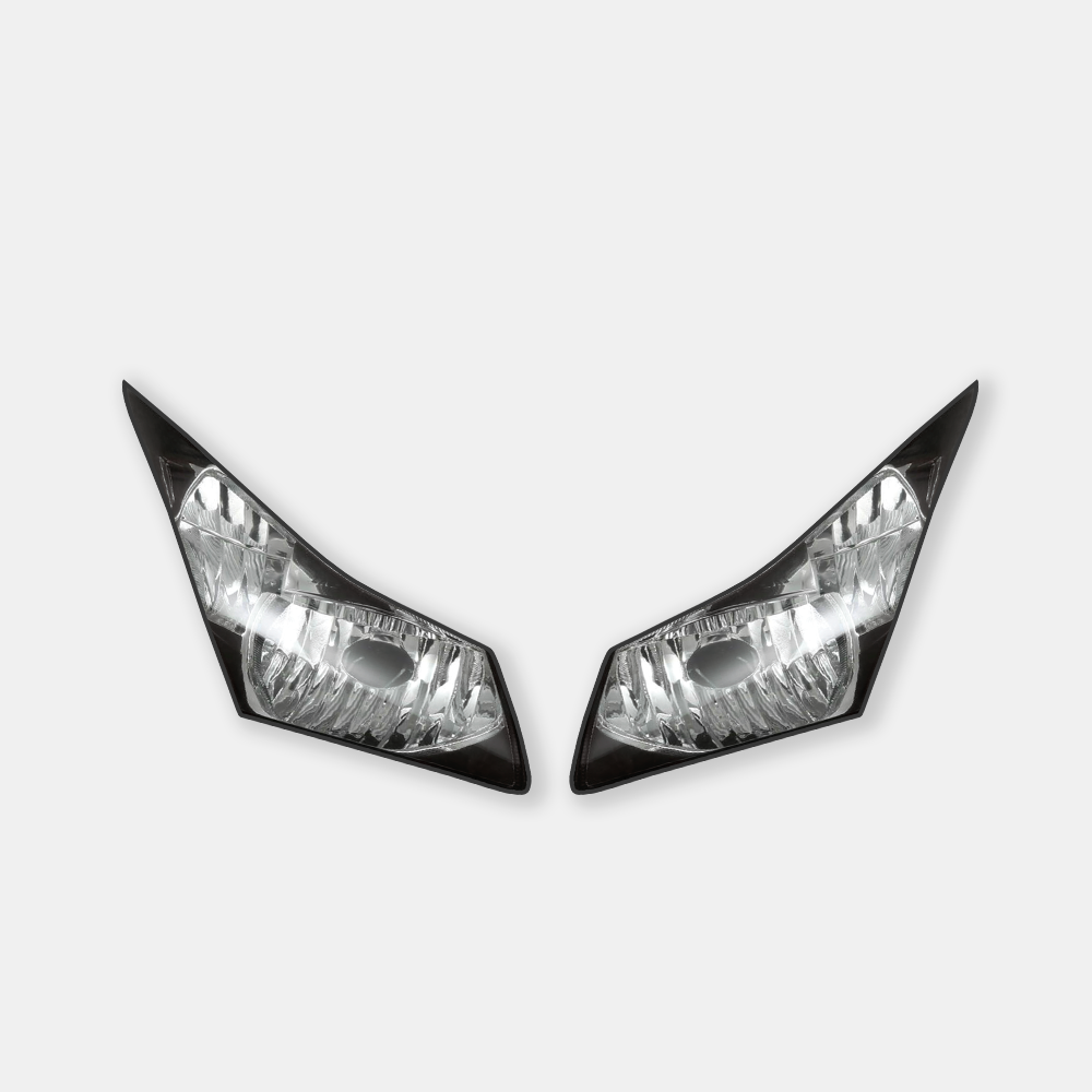 WSBK style headlight decals for Honda CBR1000RR Fireblade 2012+ - TrackbikeDecals.com