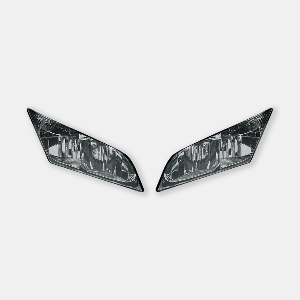 WSBK style headlight decals for Honda CBR600RR 2008 - 2012 - TrackbikeDecals.com