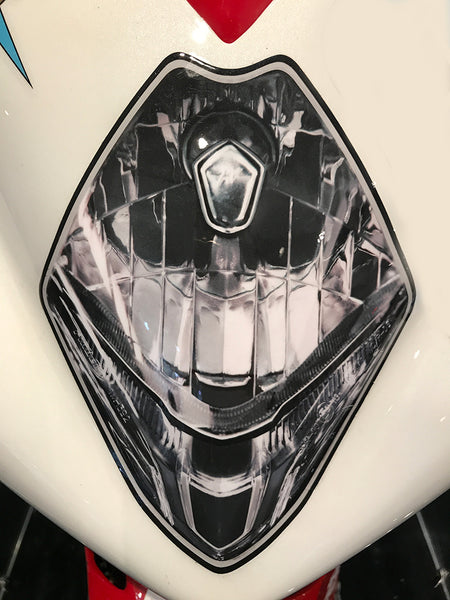 WSBK style headlight decals for Mv Agusta F3 SSP - TrackbikeDecals.com
