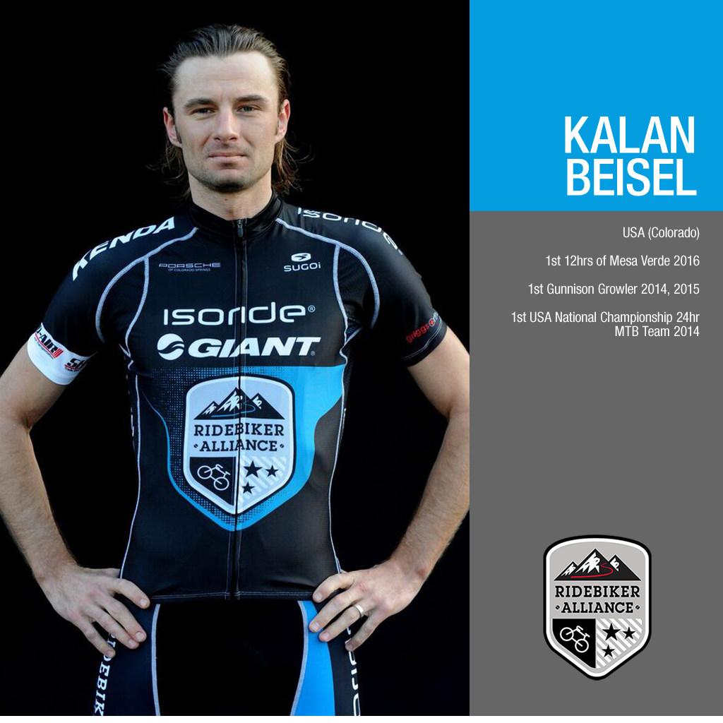 Team RideBiker Athlete Kalan Beisel