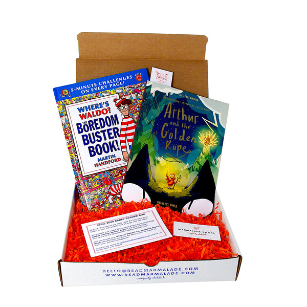 April 2020 Early Reader Box (Ages 6-9)