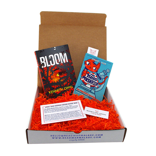 April 2020 Middle Grade Novel Box (Ages 8-12)