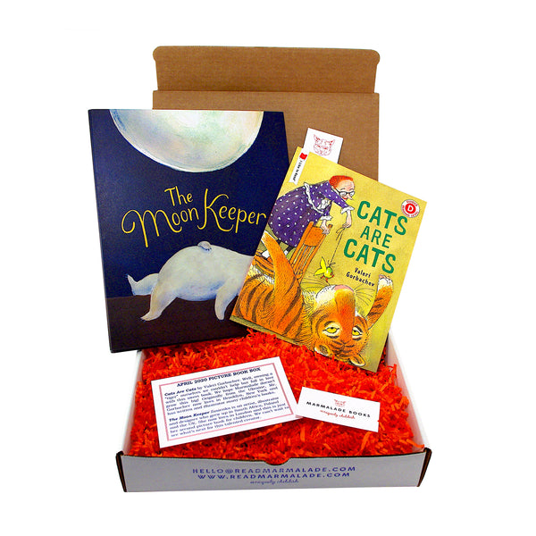 April 2020 Picture Book Box - (Ages 4-7)