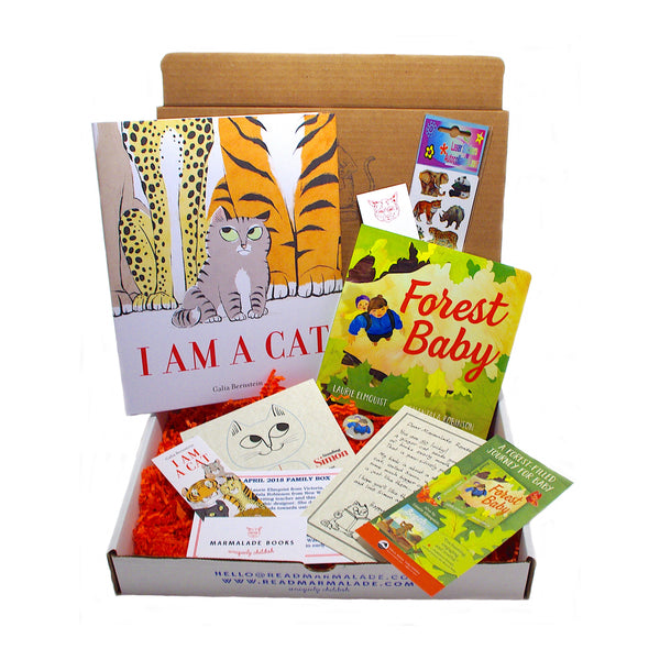 April 2018 Family Box - (Ages 0-3 & 4-7)