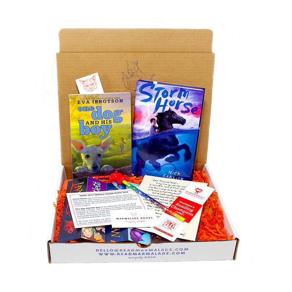 April 2017 Middle Grade Novels Box - (Ages 8-12)