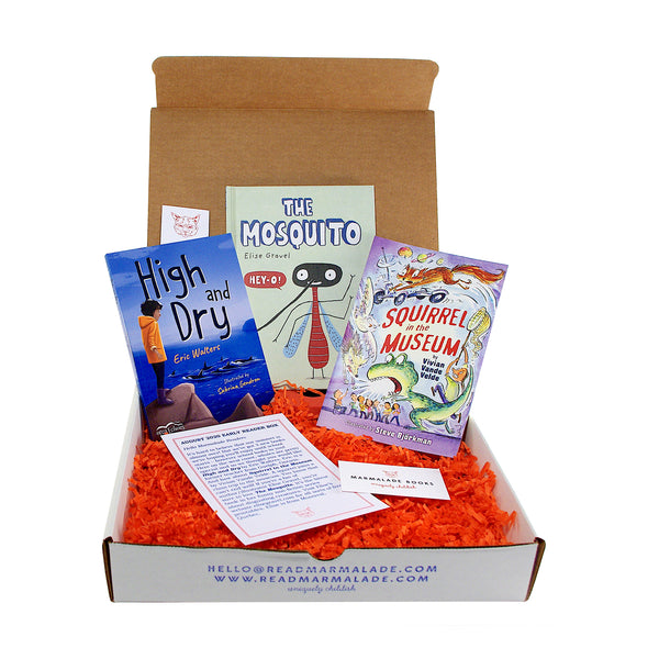 August 2020 Early Reader Box (Ages 6-9)