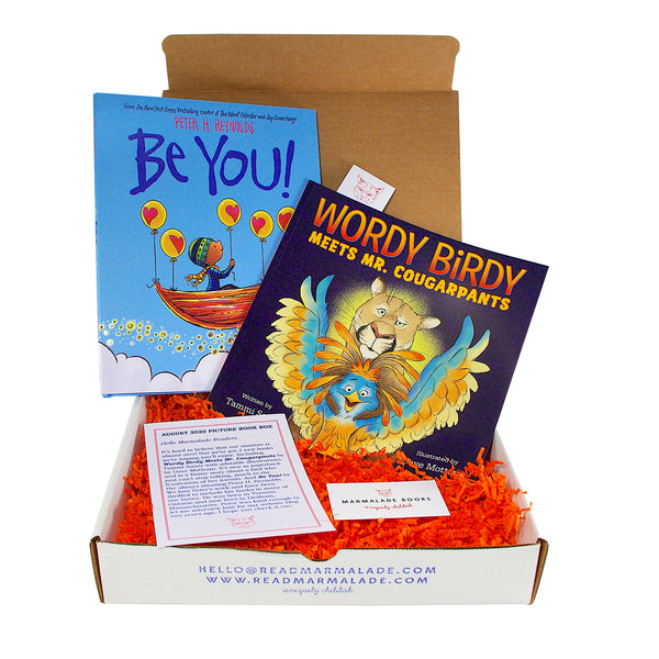 August 2020 Picture Book Box - (Ages 4-7)