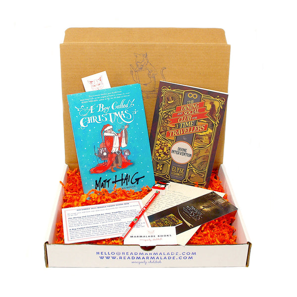 December 2016 Middle Grade Novels Box - (Ages 8-12)