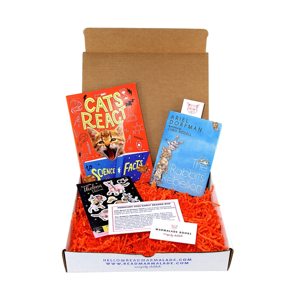 February 2020 Early Reader Box (Ages 6-9)