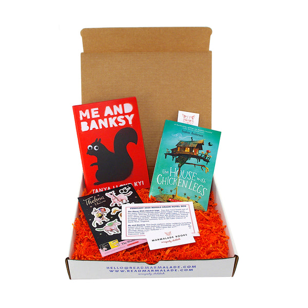 February 2020 Middle Grade Novel Box (Ages 8-12)