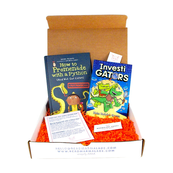 February 2021 Early Reader Box (Ages 6-9)